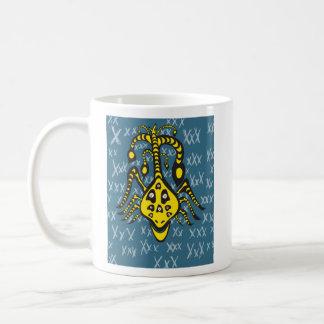 yellow creature mug