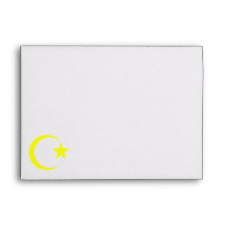 Yellow Crescent & Star.png Envelope