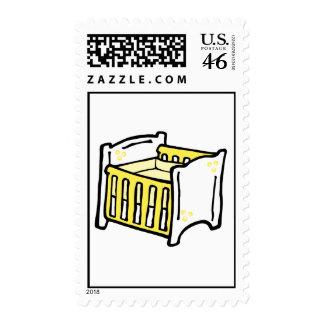 yellow crib stamps