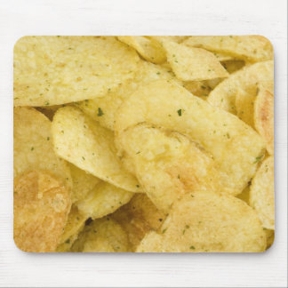Yellow Crisps As A Background Mouse Pad