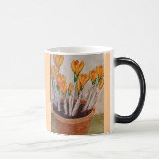 Yellow crocus  from aunt Jeen Magic Mug
