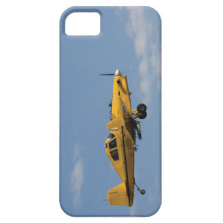 yellow crop duster side iPhone SE/5/5s case