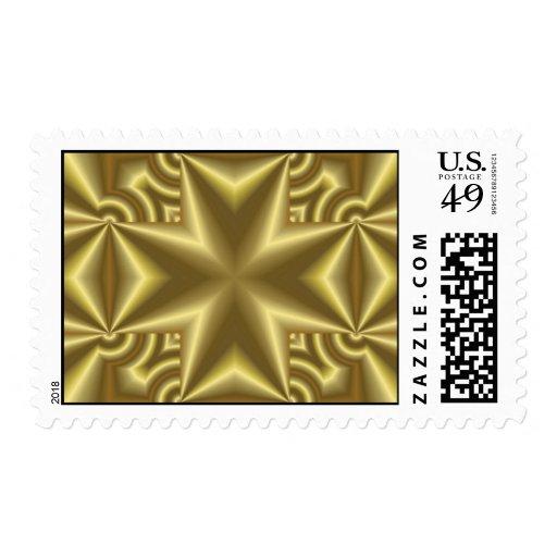 Yellow Cross Stamp