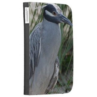 Yellow Crowned Night Heron Cases For Kindle