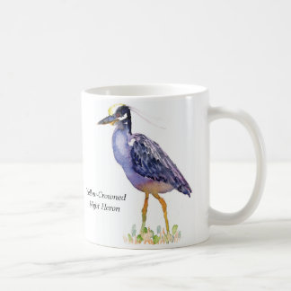 Yellow-Crowned Night Heron mug