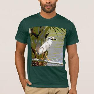 Yellow-crowned Night Heron T-Shirt