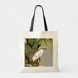 Yellow-crowned Night Heron Tote Bags