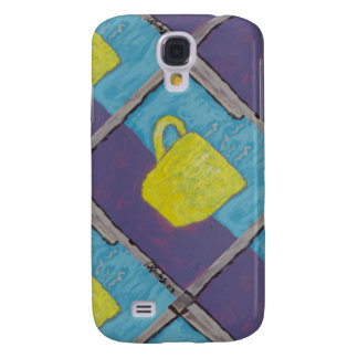 Yellow Cup Painting Samsung Galaxy S4 Covers