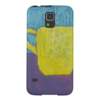 Yellow Cup Painting Galaxy S5 Case