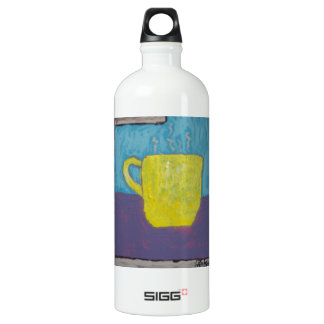 Yellow Cup Painting SIGG Traveler 1.0L Water Bottle