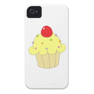 Yellow Cupcake iPhone 4 Cases