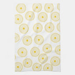 Yellow Cupcake Pattern. Towels
