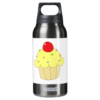 Yellow Cupcake Thermos Bottle