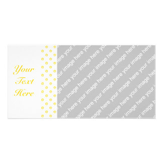 Yellow + Custom Color Flower Dot Card