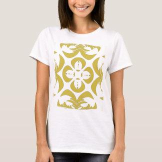 Yellow Cut Out Design Shirt