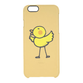 yellow cute chick uncommon clearly™ deflector iPhone 6 case