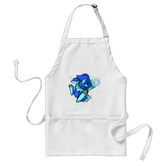 Yellow Cybunny with Stars Adult Apron