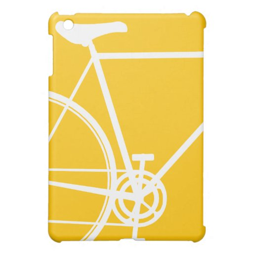 Yellow Cycle Design  Cover For The iPad Mini