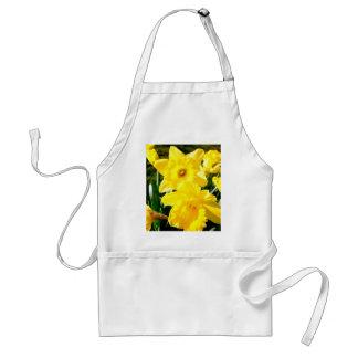 Yellow Daffodil Aprons