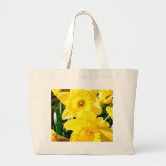 Yellow Daffodil Tote Bag