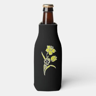 Yellow Daffodil Bottle Cooler