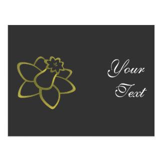 Yellow Daffodil Postcard