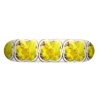 Yellow Daffodil Skateboard