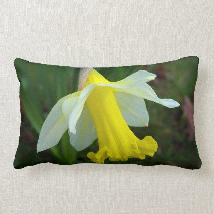 Yellow Daffodil Throw Pillows