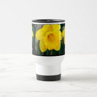 Yellow Daffodil Travel Mug