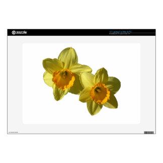 "Yellow Daffodils 2.2.2.f Skin For 15"" Laptop"