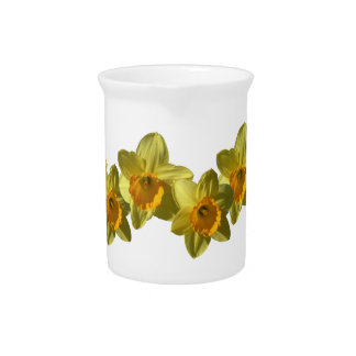 Yellow Daffodils 2.2.3 Drink Pitcher