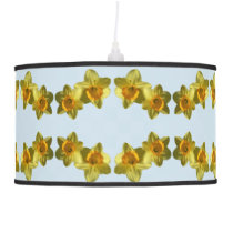 Yellow Daffodils 2.2.P.04 Hanging Lamp