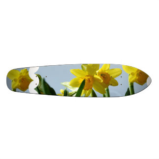 Yellow Daffodils and Narcissus Skateboard Decks