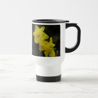 Yellow Daffodils Floral Art Mug
