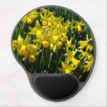 Yellow Daffodils I Cheery Spring Flowers Gel Mouse Pad