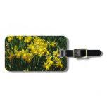 Yellow Daffodils I Cheery Spring Flowers Luggage Tag