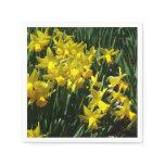 Yellow Daffodils I Cheery Spring Flowers Napkin