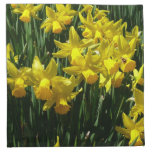 Yellow Daffodils I Cheery Spring Flowers Napkin