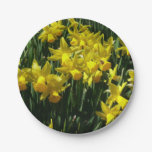 Yellow Daffodils I Cheery Spring Flowers Paper Plate