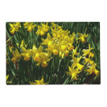 Yellow Daffodils I Cheery Spring Flowers Placemat
