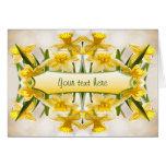 Yellow Daffodils - Thank You Greeting Card