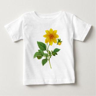 Yellow Dahlia by Pierre-Joseph Redoute T-shirt