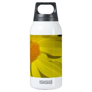 Yellow Dahlia Closeup Insulated Water Bottle