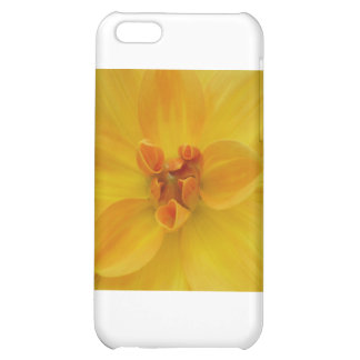 Yellow Dahlia Cover For iPhone 5C