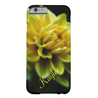 Yellow Dahlia Flower for Kaylee Barely There iPhone 6 Case