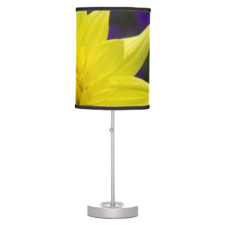 Yellow Dahlia Lamp