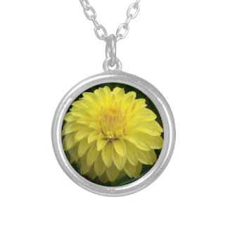 Yellow Dahlia Necklace