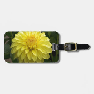 Yellow Dahlia On multiple Products Tags For Bags
