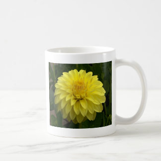 Yellow Dahlia On multiple Products Classic White Coffee Mug