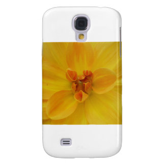 Yellow Dahlia Samsung Galaxy S4 Cases